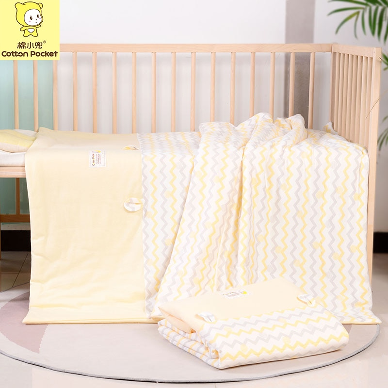 Soft Cotton Baby Comforter Bedding Sets Winter Baby Blanket Children's Beds Quilt for 1-6 Years Old Kids