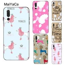 MaiYaCa Cartoon Poodles Pattern Case For Huawei P30 Lite P10 P20 P40 Pro P Smart 2019 Z Mate 10 20 L