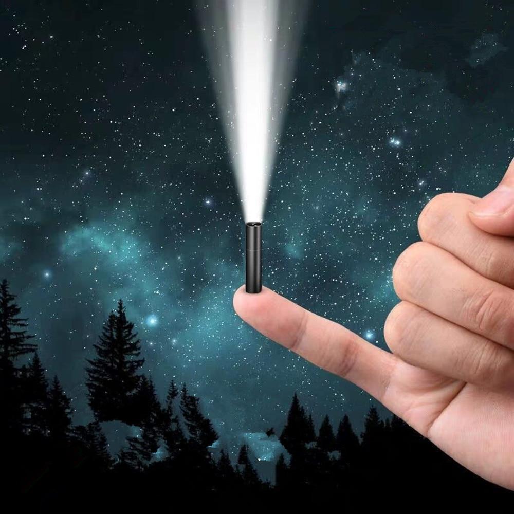 LED Strong Light Flashlight USB Rechargeable Mini Portable Super Bright Mini Light 3 Modes USB Rechargeable Mini Flashlight