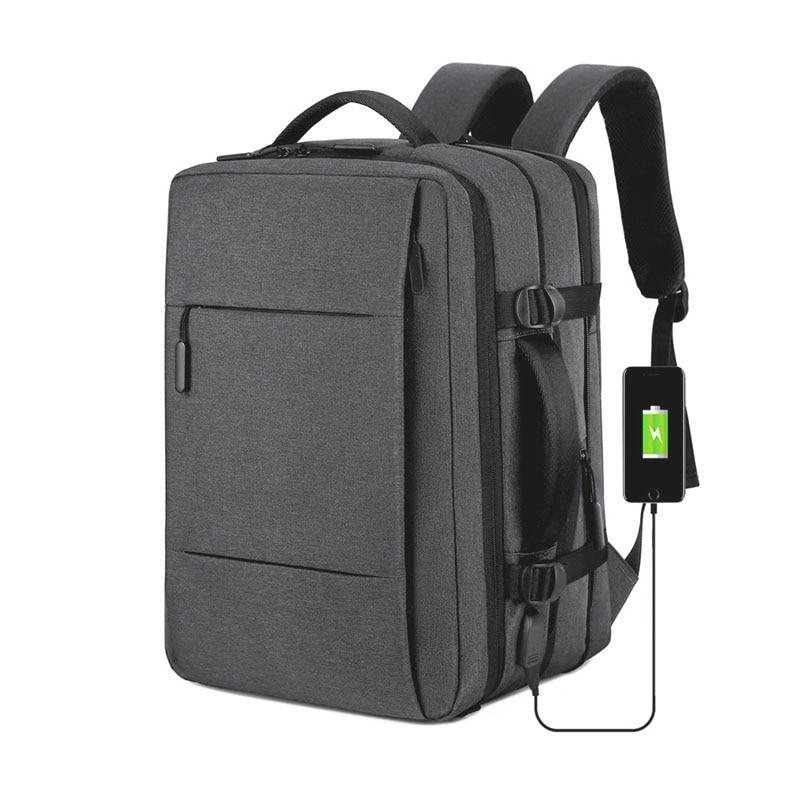 NANCY TINO Travel Laptop Backpack Men's Waterproof School Backpacks USB Charging Business  Multi Layer Storage Bags for Women