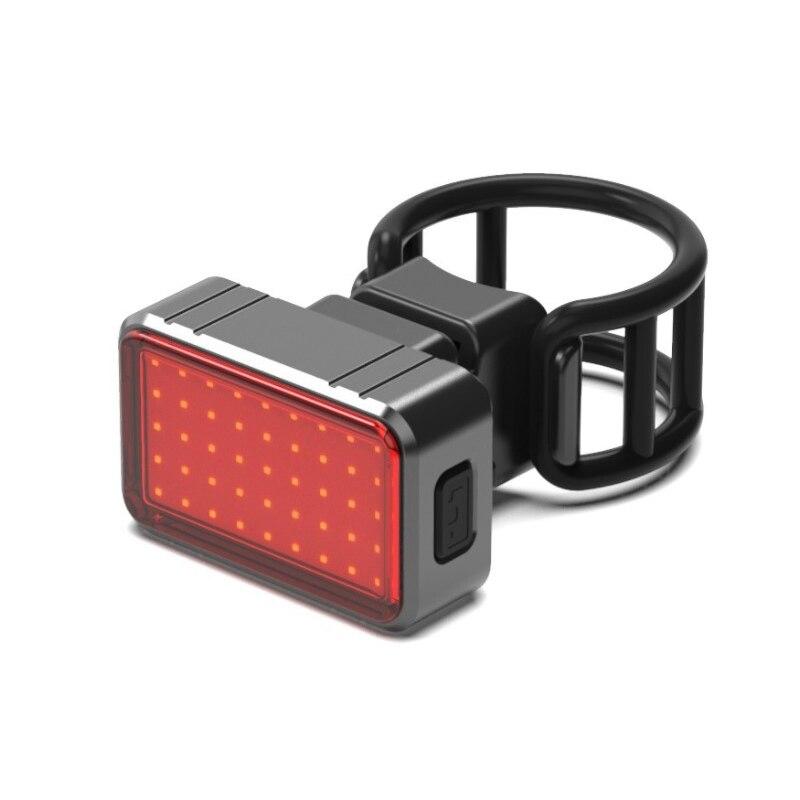 Luz LED de Bicicleta trasera advertencia impermeable luz de la Bicicleta Usb...