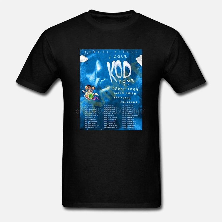 J Cole KOD Tour Merch 2018 T Shirt, setiawangsa de Coleworld matón joven Jaden Smith(1)1
