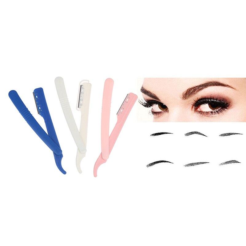 Manual Shaver Folding Face Razor Eyebrow Razor Hair Trimmer  Hair Removal Tool