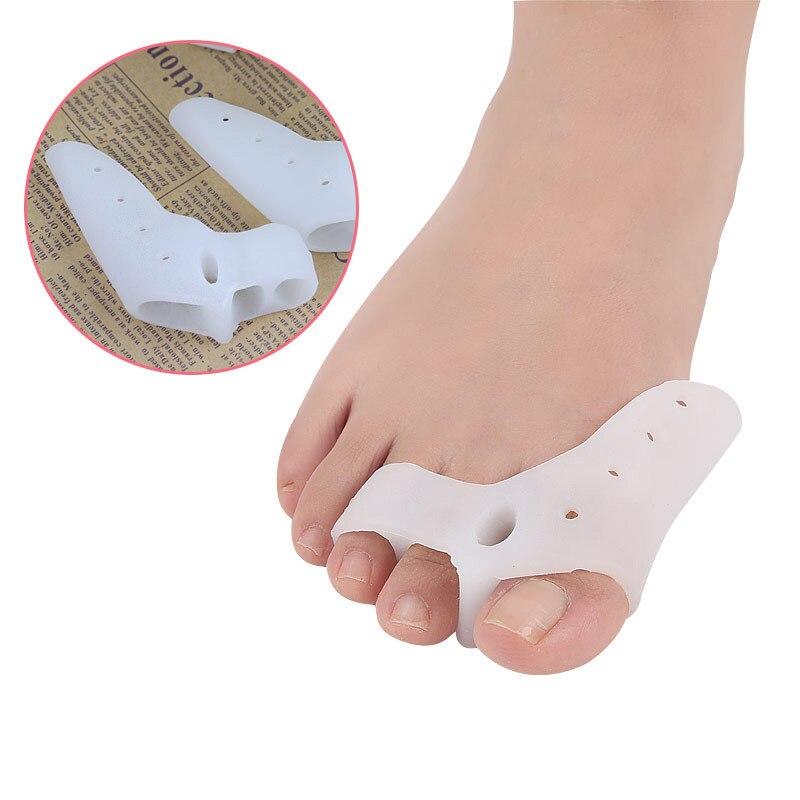 1Pair Hallux Valgus Ortopedia Braces Insoles Bunion Corrector Toe Correction Separador De Dedos De L