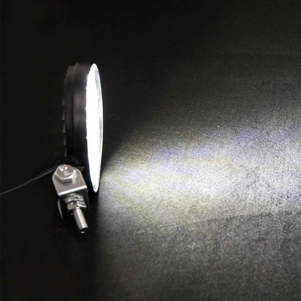 Foco grande redondo Mini 14 luz 42W luz de trabajo LED coche luz auxiliar ingeniería faro