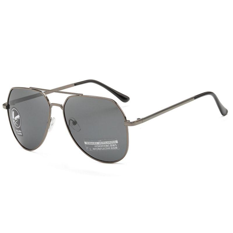 Мужские солнцезащитные очки, брендовые дизайнерские поляризационные солнцезащитные очки-авиаторы, мужские солнцезащитные очки, 1306