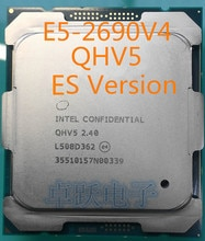 E5 2690V4 QHV5 2.40GHZ 14-rdzeń E5-2690 V4 35MB SmartCache FCLGA2011 135W darmowa wysyłka