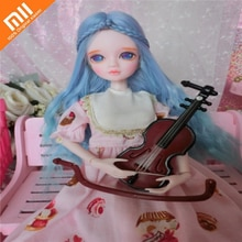 Xiaomi 28cm BJD Doll 16 Movable Joints Dolls Makeup Casual Wear Clothes with Shoes Doll Accessories