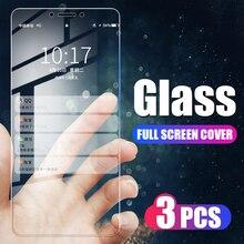 3Pcs Full Cover Tempered Glass For Xiaomi Redmi Note 4 4X 7 8 Pro 8T Screen Protector For Redmi K20 K30 Pro Glass Film