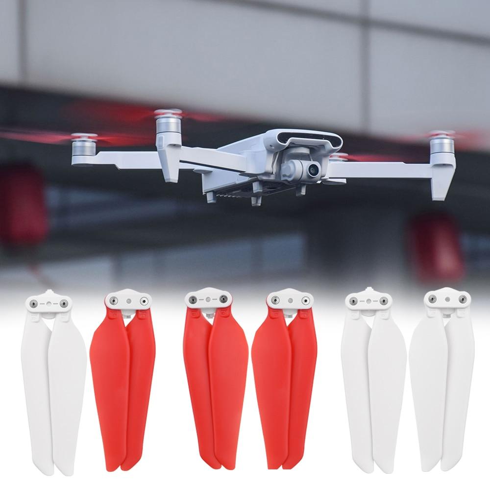 Para xiaomi drone hélices para fimi x8 se 2 peças de reposição rc quadcopter peças de reposição rápida-liberação dobrável hélices zangão peças de reposição