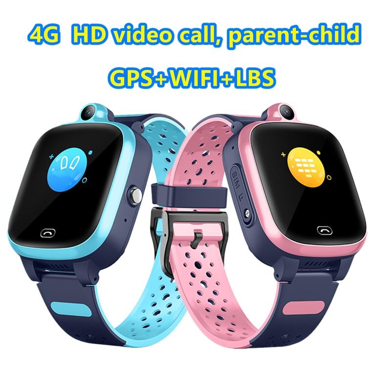 ساعة متصلة S81 للأطفال ، ساعة ذكية ، شاشة ضد الضياع ، ساعة ذكية مقاومة للماء ، مكالمة فيديو SOS ، 4G ، GPS ، WIFI ، LBS