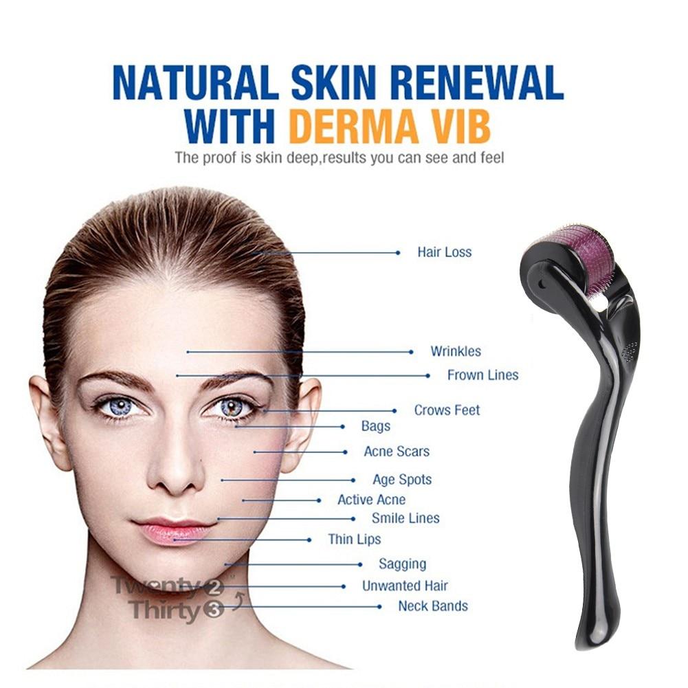 DRS 540 Derma Roller 0.3mm Needles Titanium Mezoroller Dr Pen Machine for Skin Care Hair-loss Treatment Pen Dermaroller