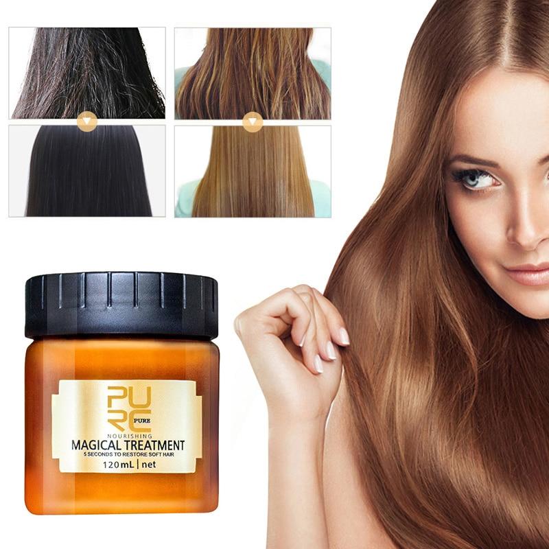 Mascarilla de tratamiento de cabello profundo, 5 segundos, repara el daño, repara...