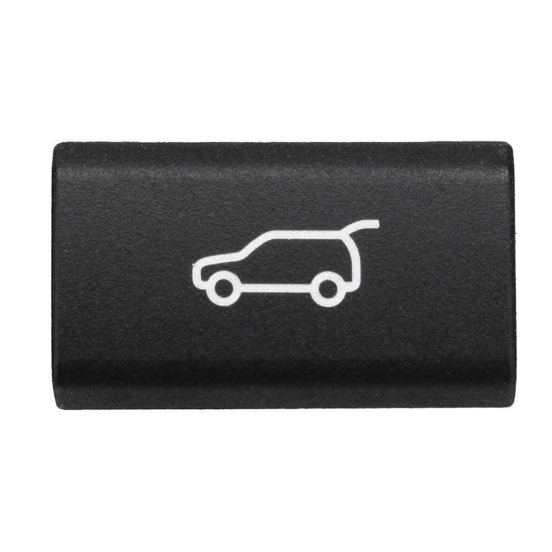 Cubierta trasera del botón del interruptor del maletero para BMW X5 E70 2006-2013X6 E71 2008-2014 plástico interruptor de tapa trasera negra
