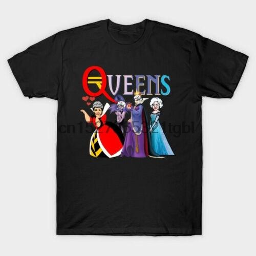 Golden Queens Golden Girls parodia reina malvada reina roja Elsa negro camiseta S-3XL hombres mujeres Unisex camiseta de moda envío gratis