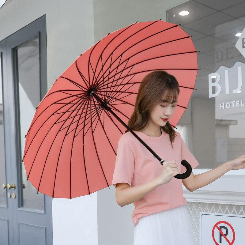 Large Double Golf Umbrella Windproof Women Outdoor Travel Waterproof Portable Uv Protection Umbrella Paraplu Rain Gear DA60YS enlarge