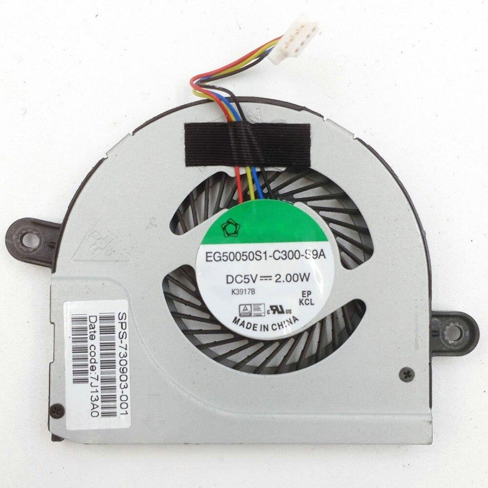 original for HP TouchSmart 11 11-E115NR E015dx fan cpu cooler  730902-001 730903-001 EG50050S1-C300-