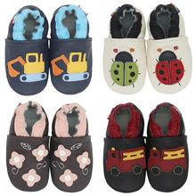 Carozoo Infant Shoes Slippers Soft Leather Baby Boys First-Walkers girl shoes