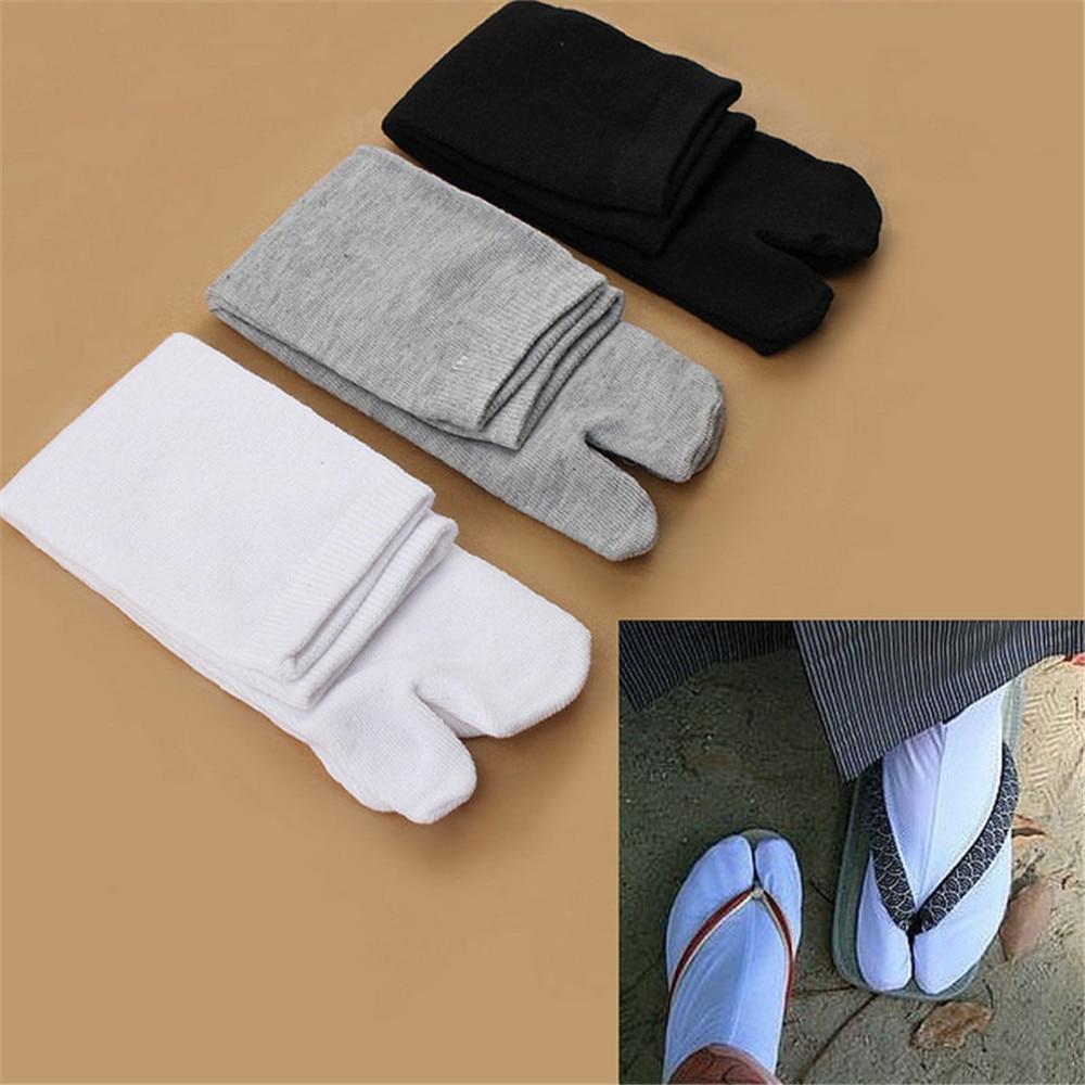 1 Pair Solid Color Ankle Socks Footful Unisex Japanese Kimono Flip Flop Sandal Split Toe Tabi Ninja Socks Clog Cotton Tabi tabi h melhorn the blonde mom confessionals