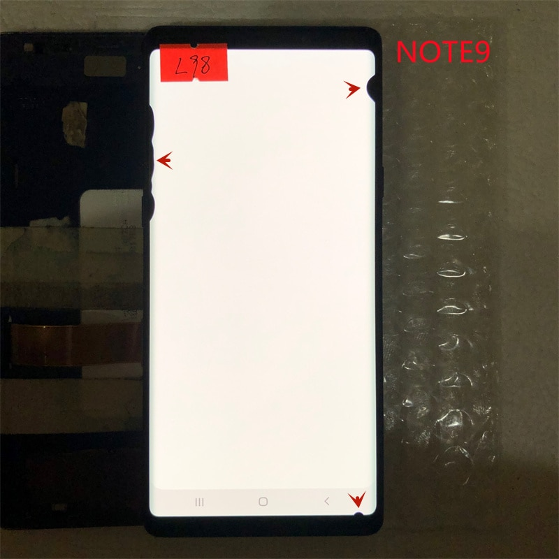 For Samsung Galaxy NOTE 9 N960A N960U N960F NOTE9 LCD monitor original display suitable for Samsung with line or With black dots enlarge