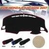 Auto Cruscotto Copertura Dashmat Parasole Copertura Pad Anti-slip Cruscotto Tappeto Per Honda/Civic 2016 2017