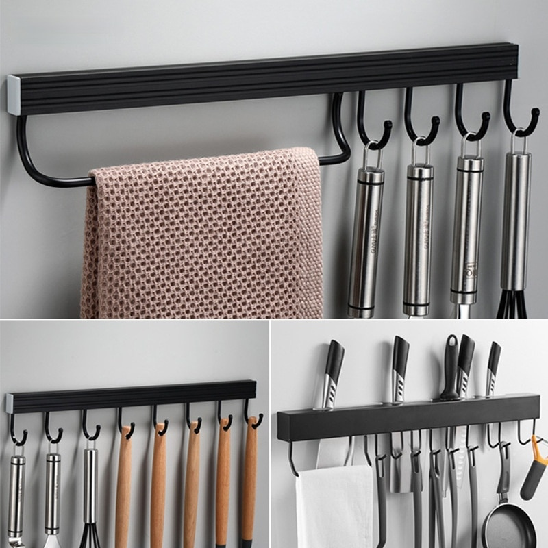 Кухонный крючок настенные кухонные стеллажи вращающаяся полка для хранения кухонные аксессуары Полка для кухни