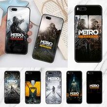 Чехол для телефона Game Metro 2033 для Xiaomi Mi Max Note 3 A2 A3 8 9 9T 10 Lite Pro, Ультрачерный мягкий бампер, роскошный чехол, художественный чехол