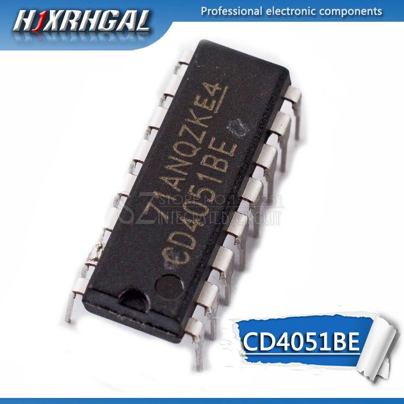 1 piezas CD4051BE DIP16 CD4051 DIP 4051