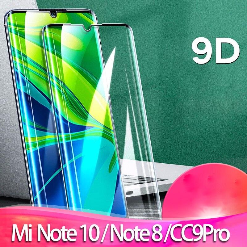Закаленное стекло на Mi Note 10 (mi cc9 pro) Защитное стекло для экрана Redmi Not 8 10 mi CC 9 pro/ксиоми редми ноут 8 сяоми ми ноте 10 нот 10 про cc9 защитное стекло пленка Xiao mi-note-10 Glass