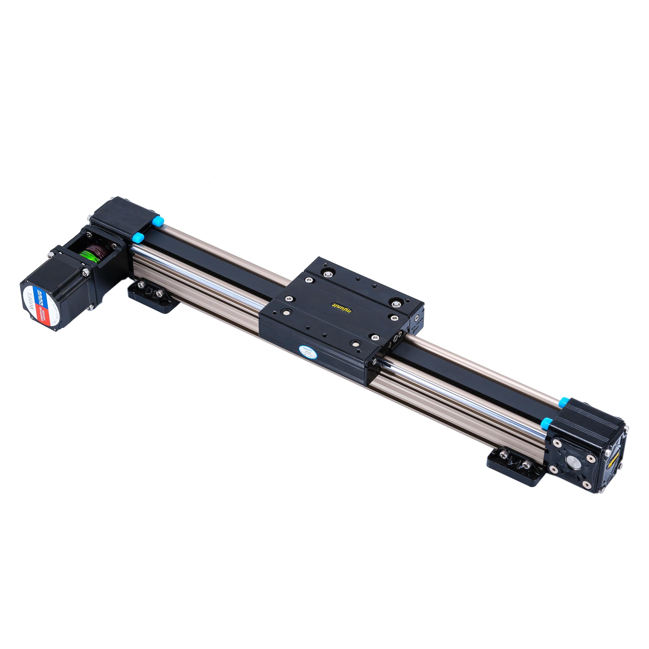 Mjunit خوذة التلقائي رذاذ الطلاء خط الإنتاج ، الترددية الشريحة الخطية باستخدام خطوة أو محرك معزز ، حزام الأسنان