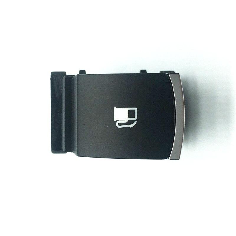 Acessórios do carro tampa do tanque de combustível capa porta aberta botão interruptor liberação para vw jetta golf 5 mk5 coelho touran 1kd959833 1kd 959 833