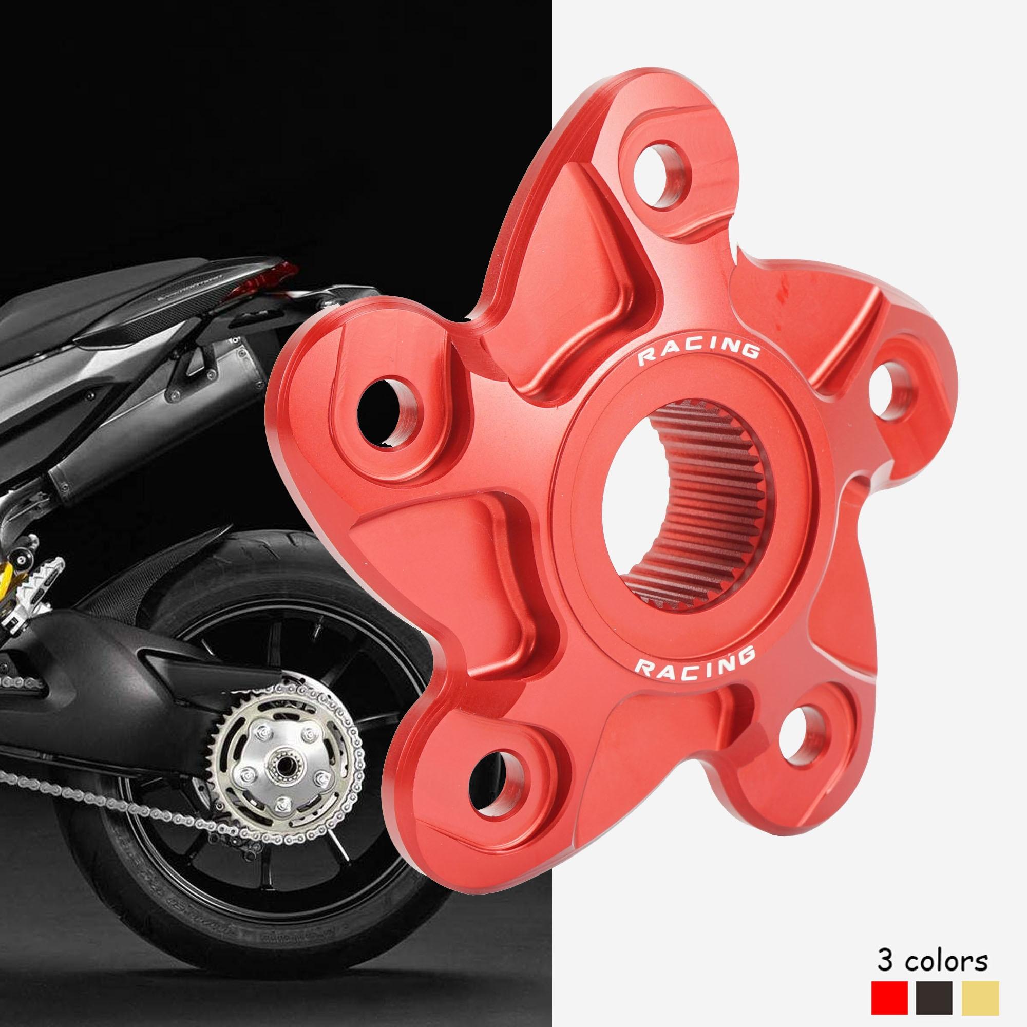 Cubierta de brida de piñón trasero de motocicleta para Ducati Hyperstrada821 Hyperstrada 939 Hypermotard 796 1100 1100S 1100 EVO