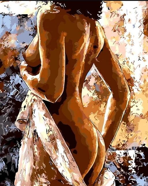 Quadrado cheio de diamante bordado mulher nua 5d diy pintura diamante imagem do quarto strass decoração presente