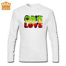 Funny Bob Marley One Love Jamaica Rasta Reggae Hip Hop Rap Music Cool Men Kids Gift T Shirt Euro tshirt Personalized Long Sleeve