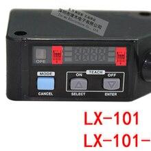 LX-101-P PNP RGB Color Digital Mark Sensor - PNP - 2m Cable 100% Original New