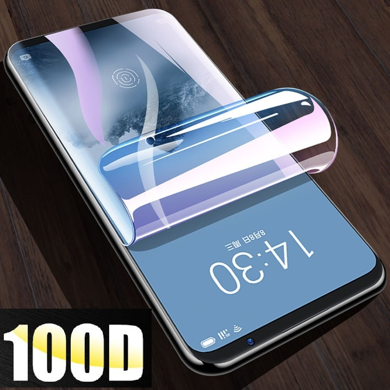 Transparent Hydrogel Film For Meizu Pro 7 /Pro 7 Plus Full Cover Curved Explosion-proof Soft Screen Not Tempered Glass