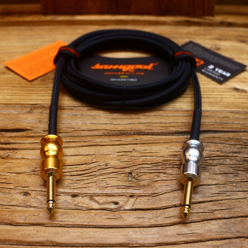Samgool+ AG series electric guitar cable fever level noise reduction frequency recording sound 3/6/10 meters enlarge