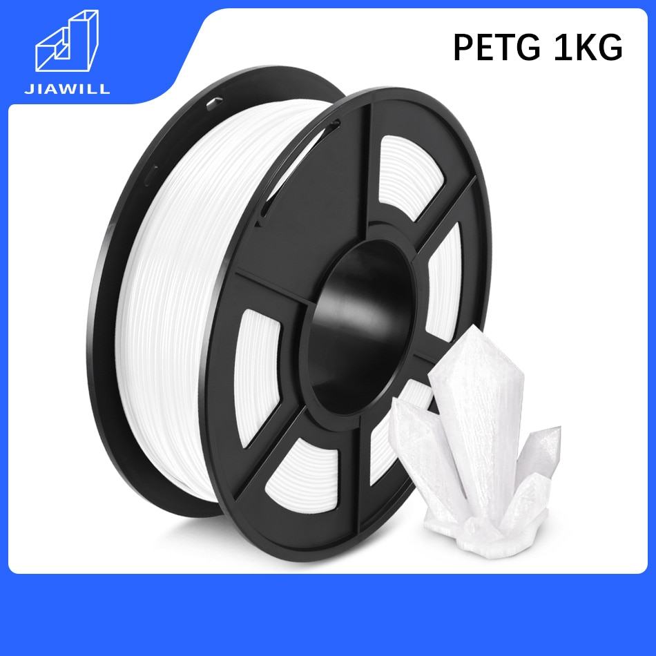 PETG Filament 3D Printer Plastic 1.75mm 1kg 3D Printer Filament Good Toughness Dimensional Stability High Transparency