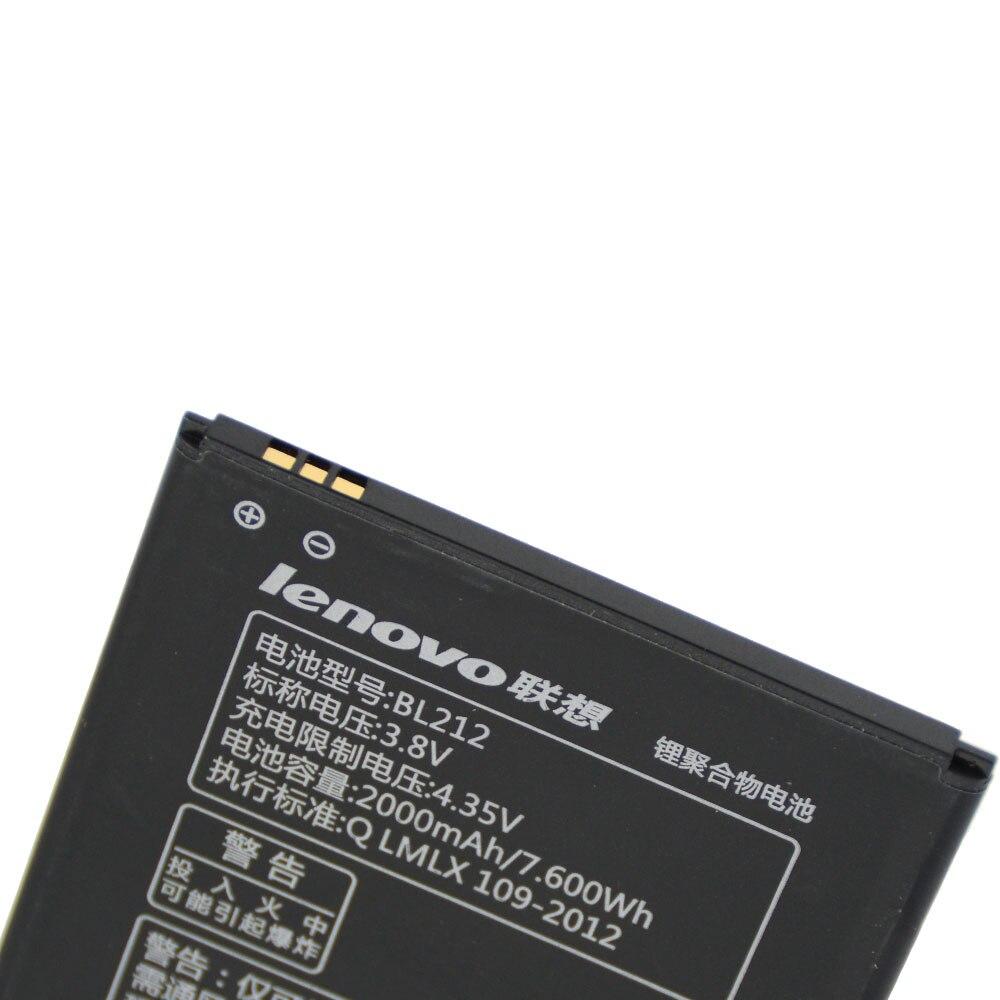20pcs/lot Original Battery BL212 For Lenovo A708T A628T A620T S8 S898 S898T Rechargeable Batterij akku In Stock 2000mAh enlarge