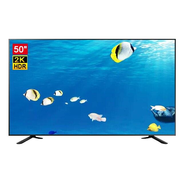 Tv inteligente led uhd 4k, 50/65/75/85/100 polegadas, televisão de led com wi-fi, vidro temperado
