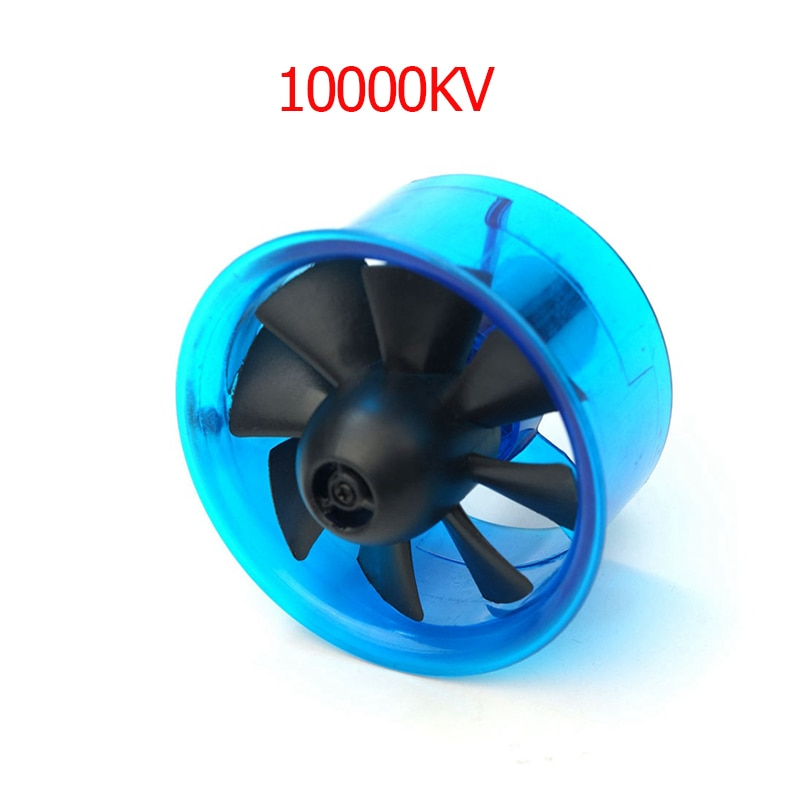 Producto patentado AEORC SISTEMA DE VENTILADOR EDF 27mm con Motor sin escobillas 10000KV para avión a reacción RC Avión de ala fija
