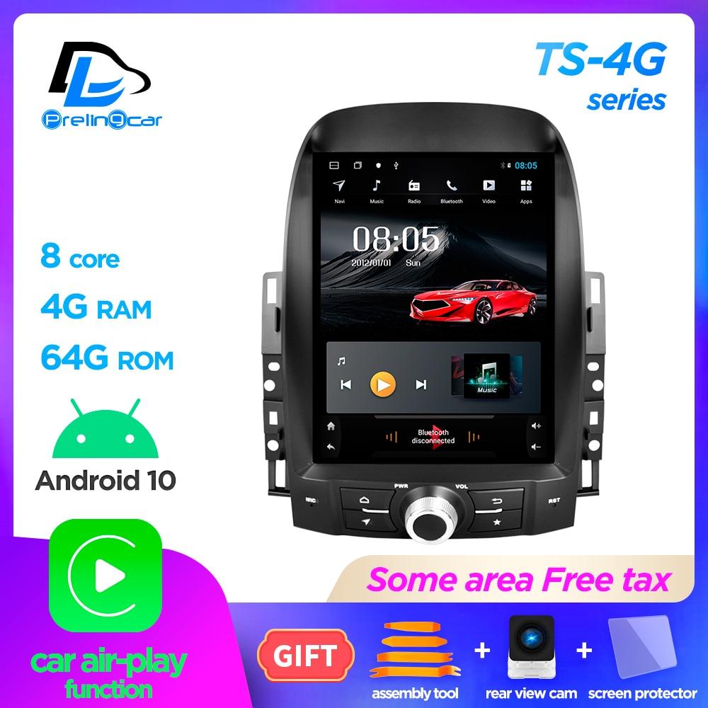 Android 10.0 4g global lte carro gps multimídia jogador de rádio estéreo para baojun 630 sistema navegação jogador vertical