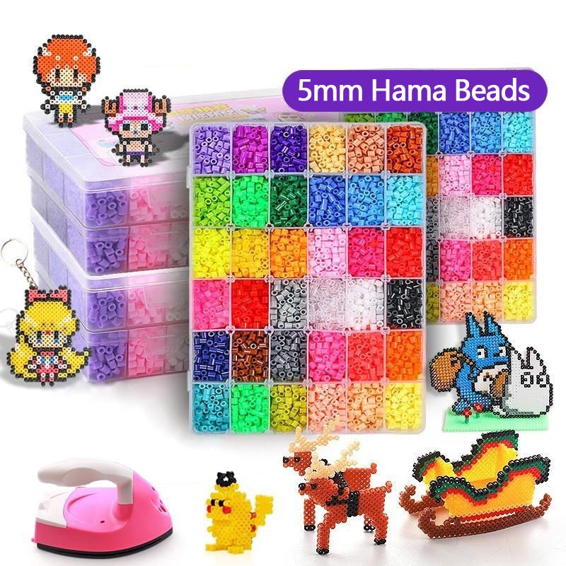 5mm fuse beads including accessories + option to purchase an beauty iron