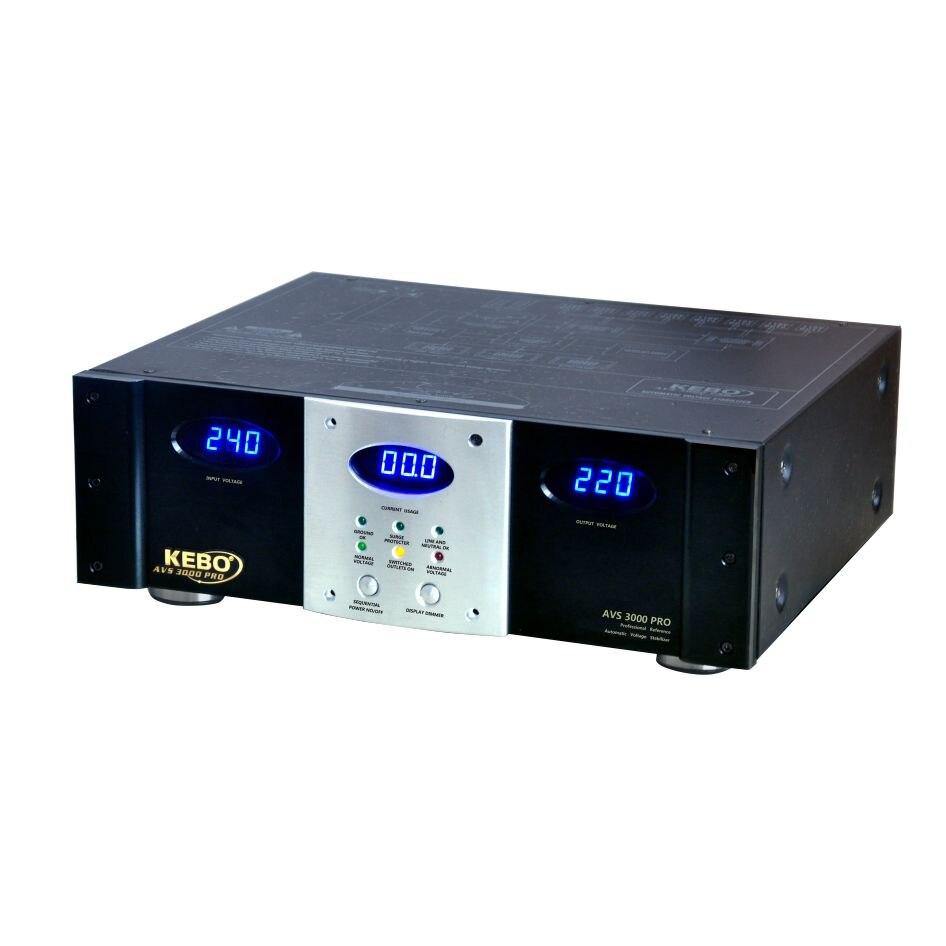 مثبت كيبو اولتاج للمنزل لنظام الصوت AVS 3000 PRO -3000VA/1800W
