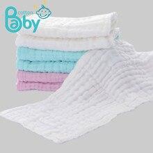 Insert de couche-culotte en gaze lavable réutilisable pour bébé, 2 pièces, 18*45CM, vêtement répété pour nouveau-né, housse en mousseline de coton lavable