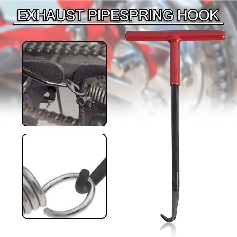 Универсальные пружины для выхлопной трубы мотоцикла, пружинный крюк для выхлопной трубы, съемник, Ремонтный инструмент для выхлопной трубы...