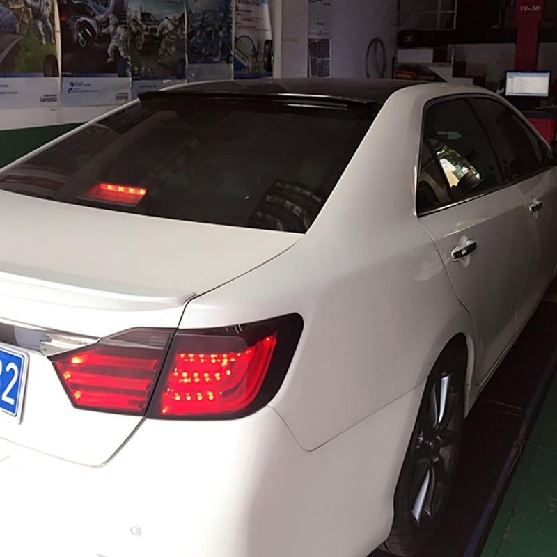 لسيارة تويوتا كامري 2012 2013 2014 2015 2016 ديكور سيارة بلاستيك ABS مطلي ألوان خلفية صندوق السيارة سبويلر سقف السيارة