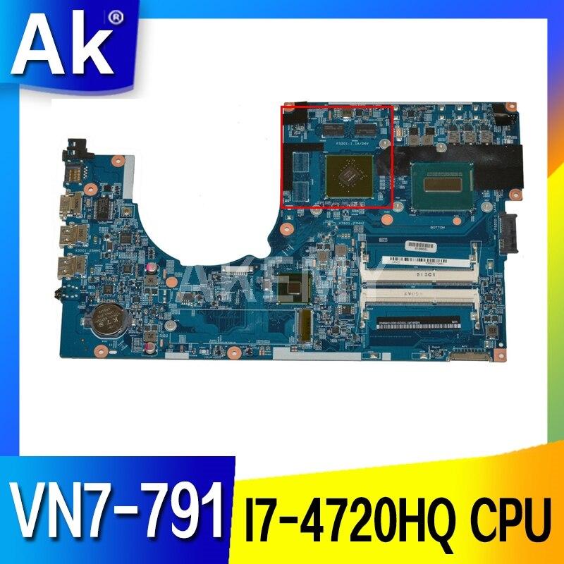 Akemy para ACER aspire VN7-791 placa base de computadora portátil NBMTH11003 448.02G08.001M...