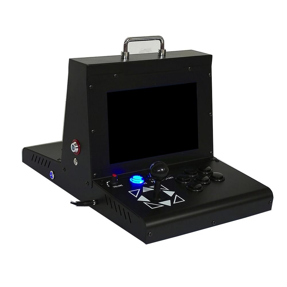 10 Polegada Mini Máquina De Arcade Caixa de Pandora DX 3000 Multi Jogos EM 1 Empurrador Da Moeda Para venda