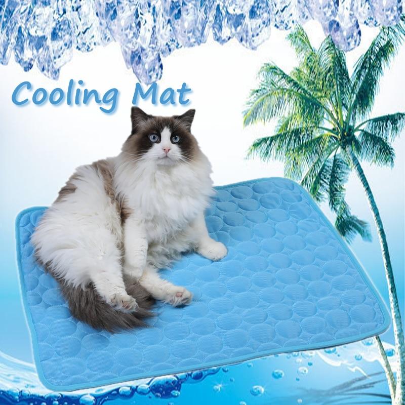 Охлаждающие маты для кошек, охлаждающие Матрасы для кошек и домашних животных, летние Матрасы для кошек и домашних питомцев